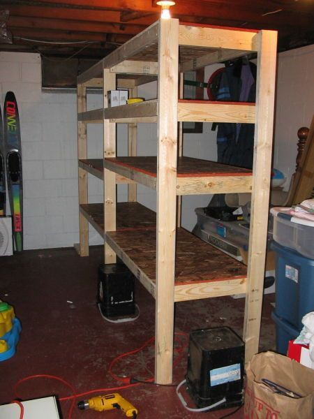 Cheap Shelves New Cheap and Easy Diy Shelves for the Basement Of Incredible 45 Pictures Cheap Shelves