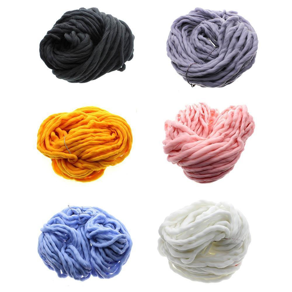 Durable Super Thick Big Spinning Hand Knitting Ply Yarn