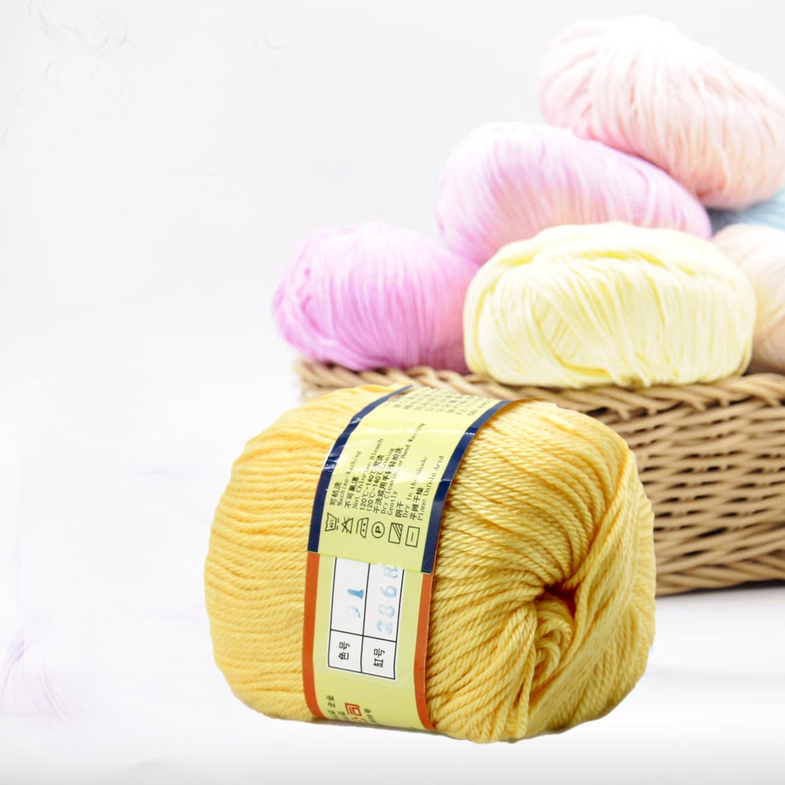 Cheap Yarn New 1pc 50g Cotton Knitting Yarn Crochet Yarn for Knitting Of Amazing 40 Pics Cheap Yarn