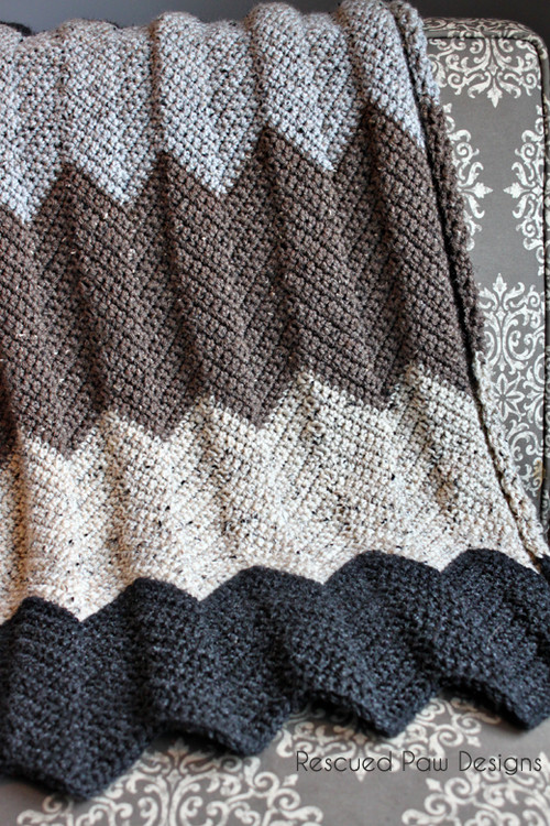 Chevron Afghan Pattern Awesome Neutral Chevron Crochet Blanket Pattern Of Top 40 Ideas Chevron Afghan Pattern