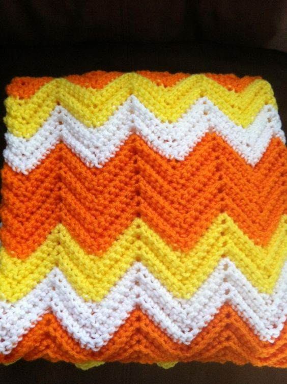 Chevron Afghan Pattern Elegant Candy Corn Chevron Crochet Afghan Of Top 40 Ideas Chevron Afghan Pattern