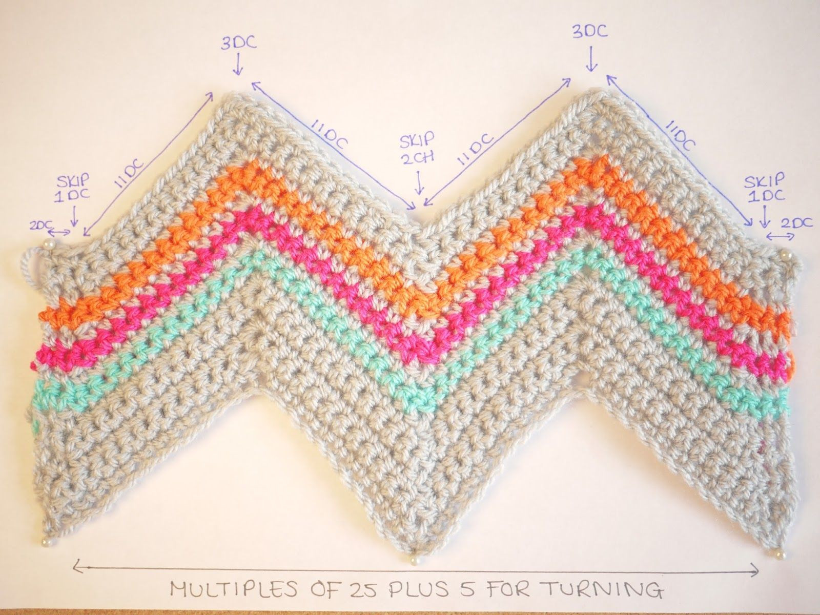 Chevron Afghan Pattern Fresh Chevron Crochet Pattern Bella Coco Of Top 40 Ideas Chevron Afghan Pattern