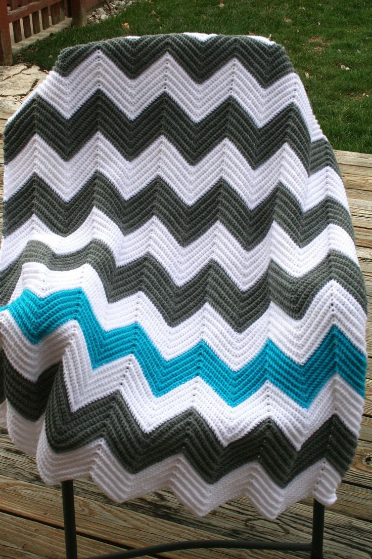Chevron Afghan Pattern Lovely 250 Best Crochet Ripple Chevron & Zig Zag Afghans 1 Of Top 40 Ideas Chevron Afghan Pattern