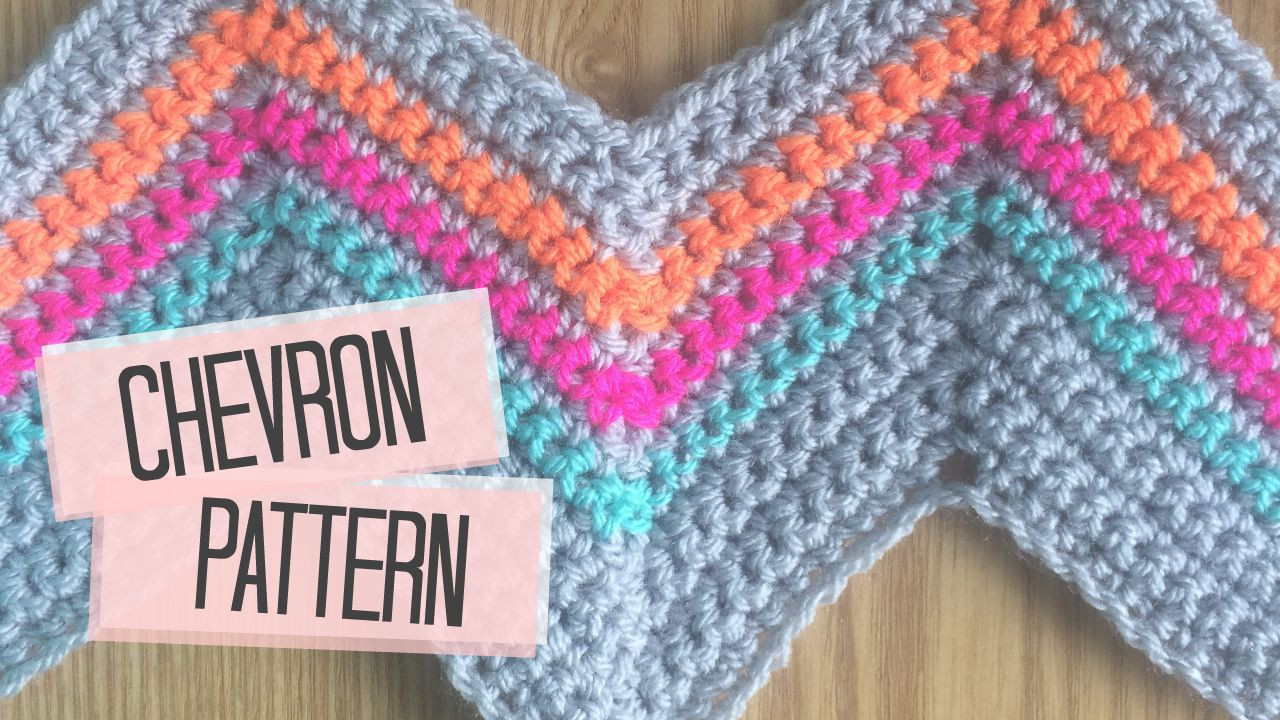 Chevron crochet pattern