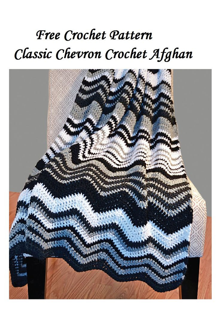Best 25 Chevron afghan ideas on Pinterest