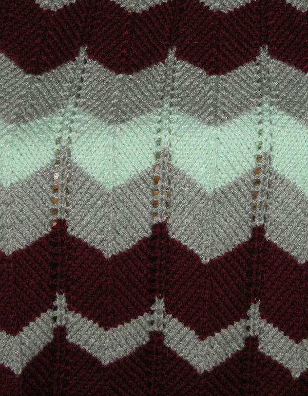 Chevron Afghan Pattern Luxury Chevron Ripple Afghan Knit Of Top 40 Ideas Chevron Afghan Pattern