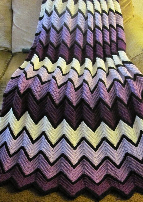 Chevron Afghan Pattern Unique 17 Best Images About Crochet Afghan Ripple On Pinterest Of Top 40 Ideas Chevron Afghan Pattern