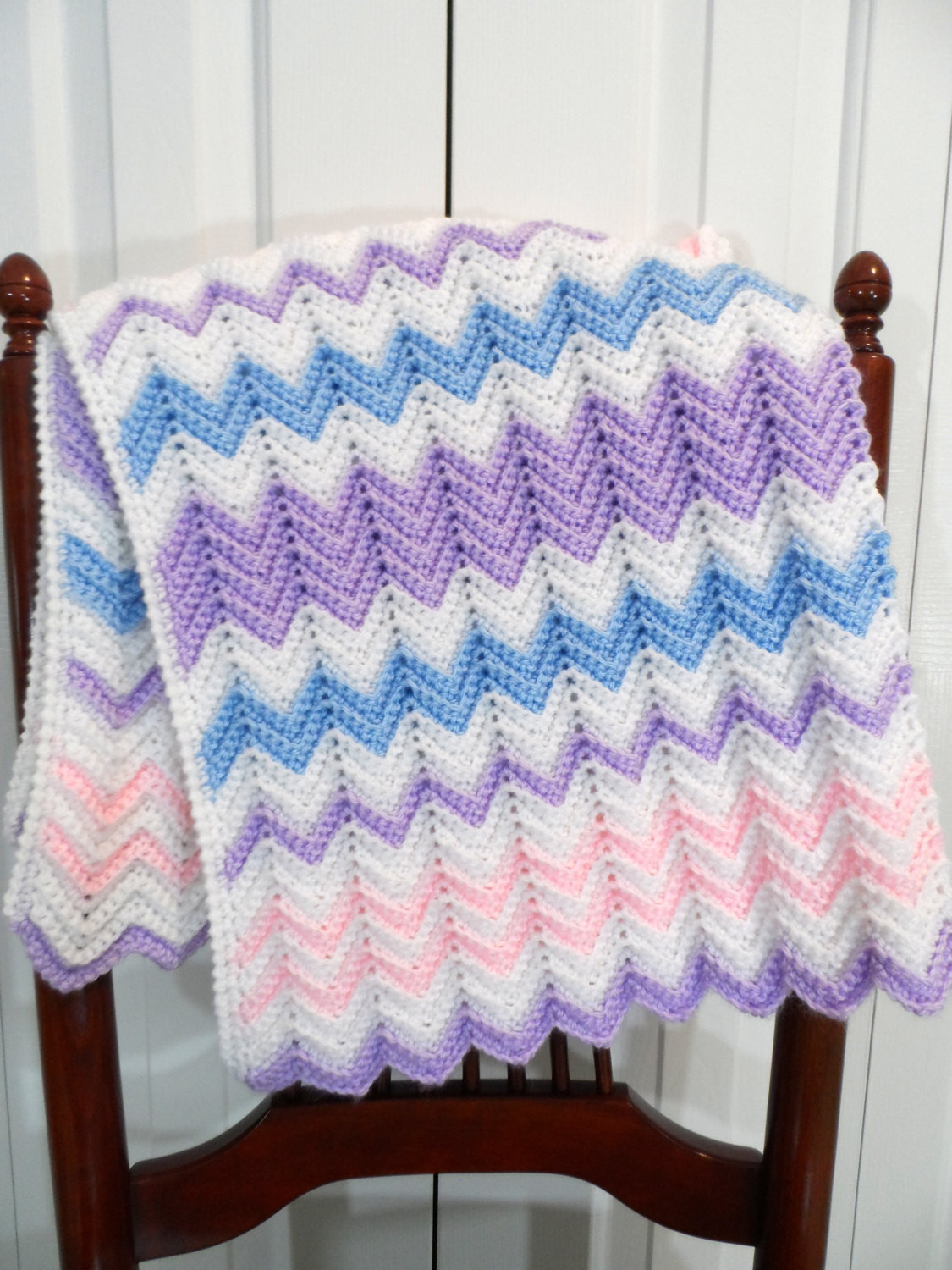 Chevron Baby Blanket Fresh Baby Blanket Crochet Pattern Pastel Chevron Ripple Afghan Of Attractive 49 Pics Chevron Baby Blanket