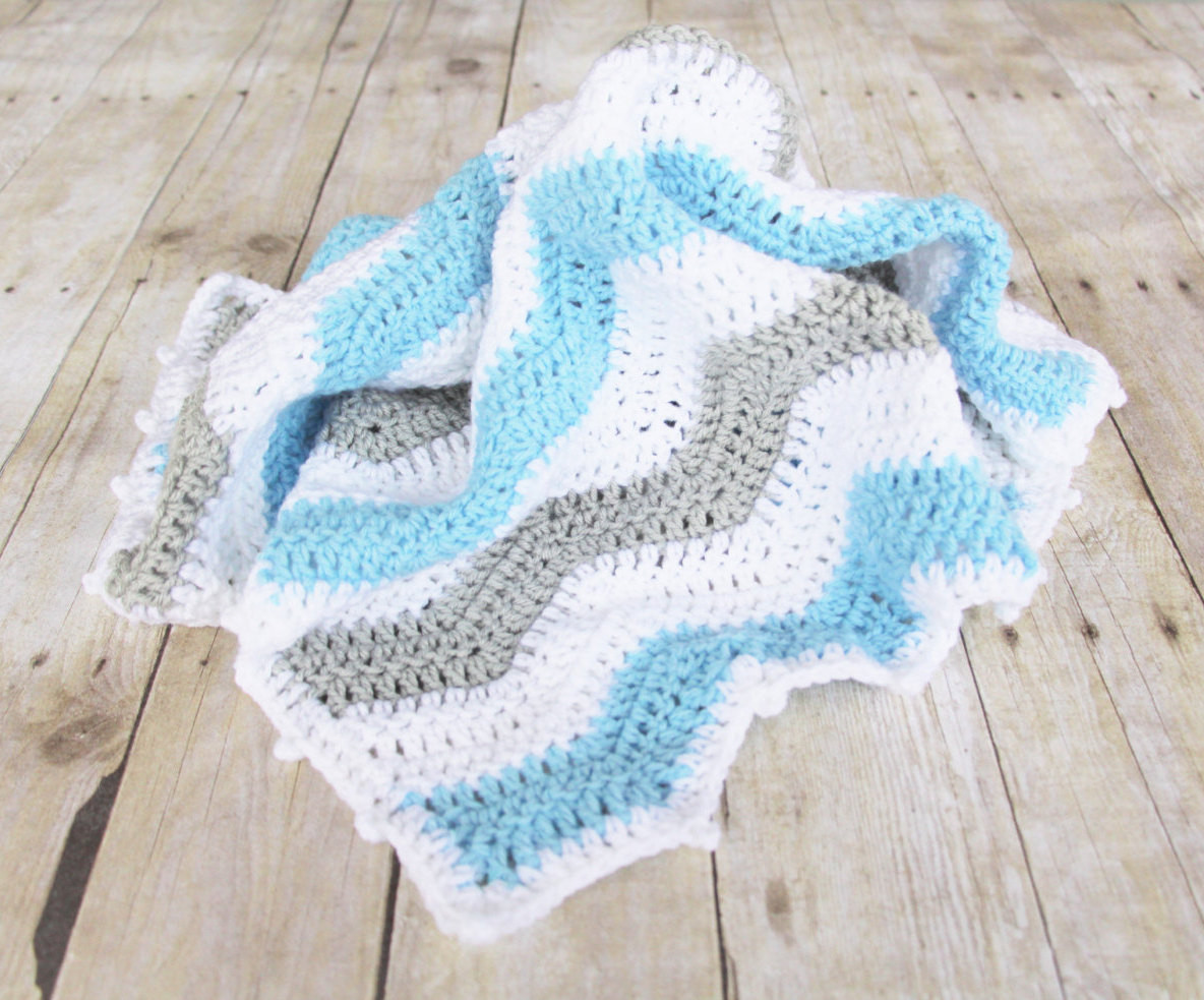 Chevron Baby Blanket Luxury Grey Blue Chevron Baby Blanket Crochet Baby Blanket Chevron Of Attractive 49 Pics Chevron Baby Blanket