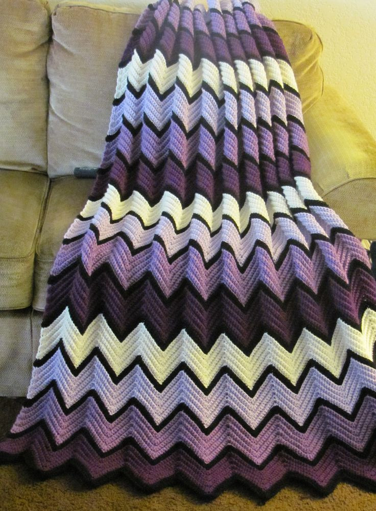 Chevron Crochet Afghan Awesome Crochet Afghans Crochet and Knit Of Charming 41 Models Chevron Crochet Afghan