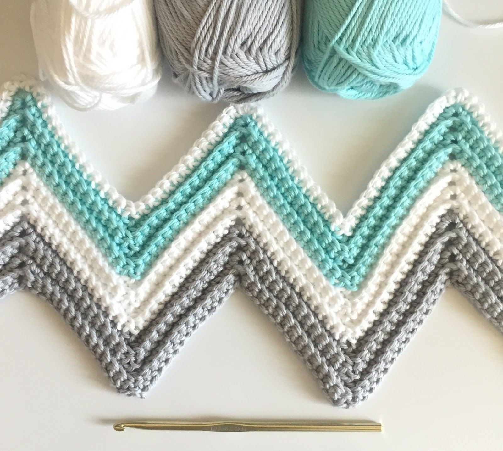 Chevron Crochet Afghan Beautiful Daisy Farm Crafts Single Crochet Chevron Blanket In Mint Of Charming 41 Models Chevron Crochet Afghan