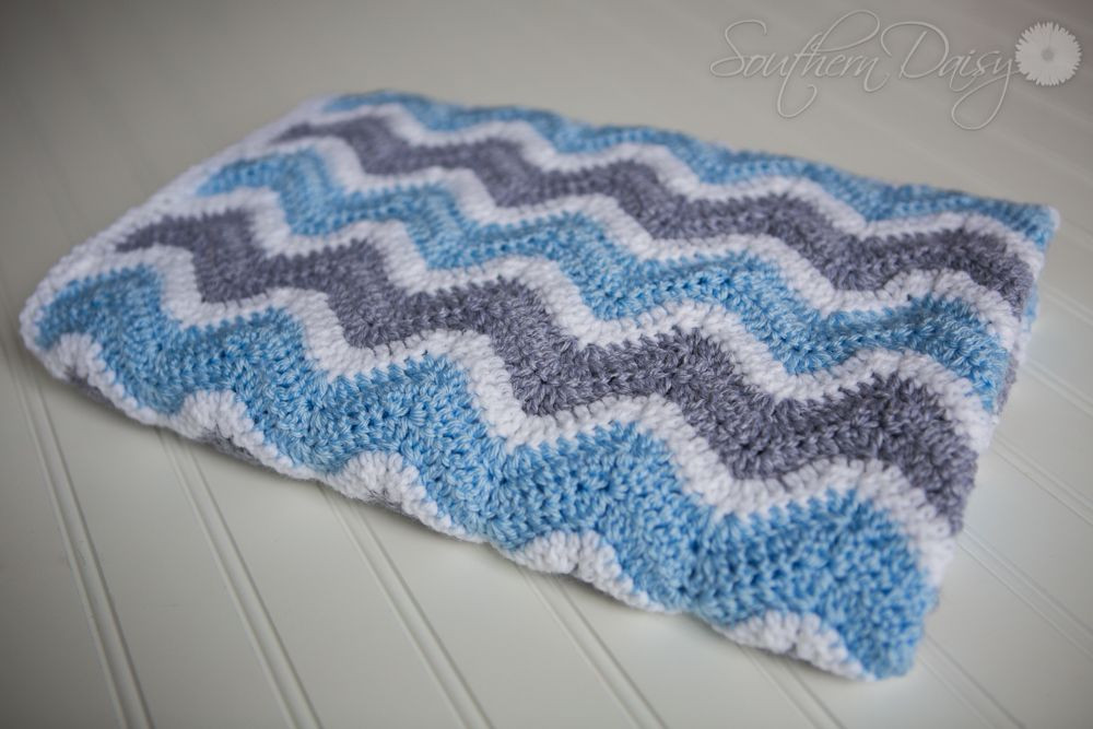 Chevron Baby Blanket Nashville Newborn Maternity Family