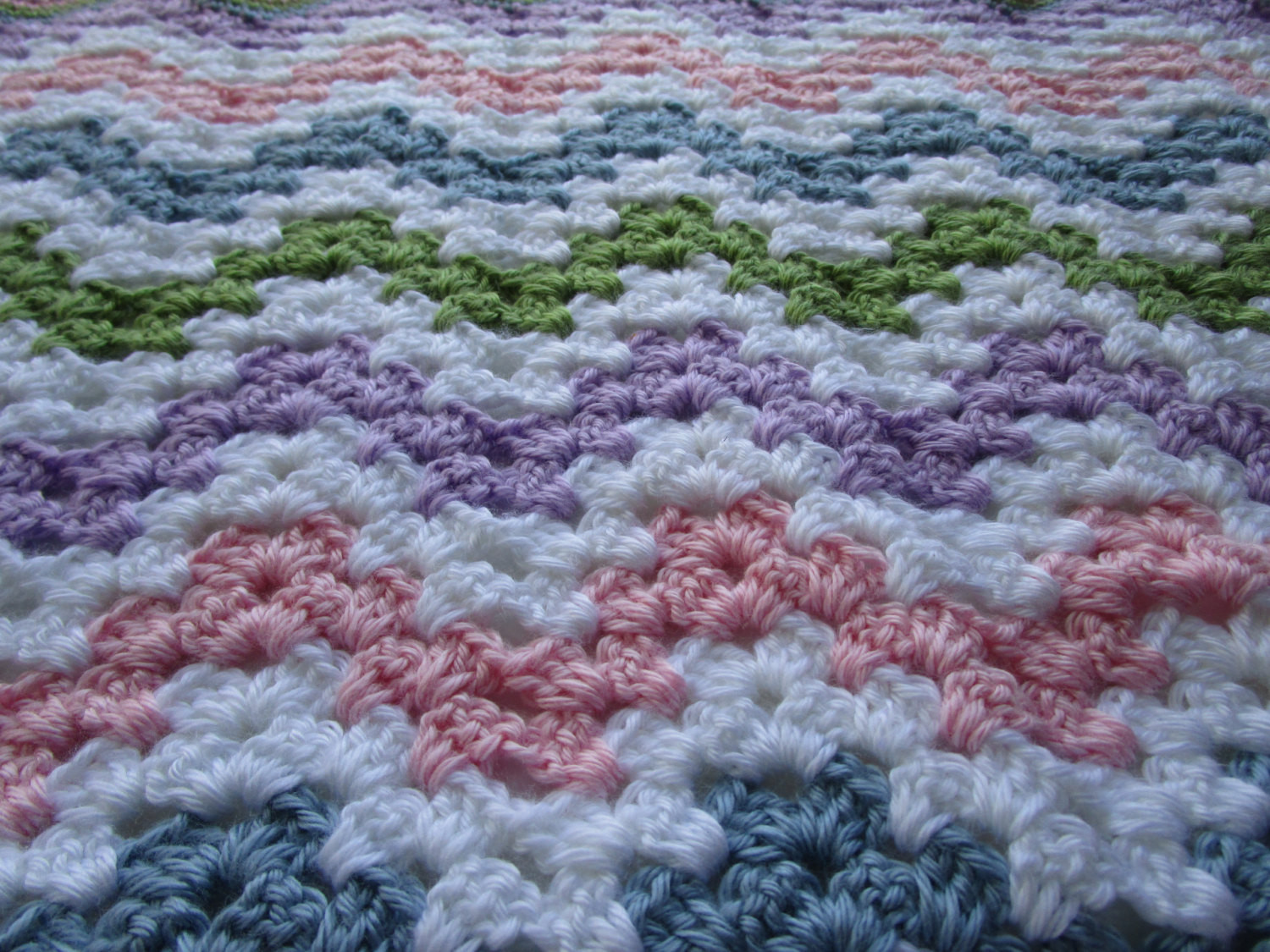 Easy Crochet Blanket Pattern Granny Chevron Crochet Afghan