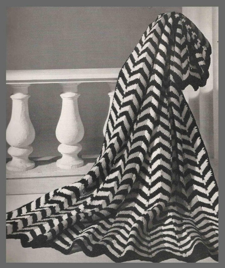 Chevron Crochet Afghan Elegant Black & White Chevron Crochet Afghan Crochet Of Charming 41 Models Chevron Crochet Afghan