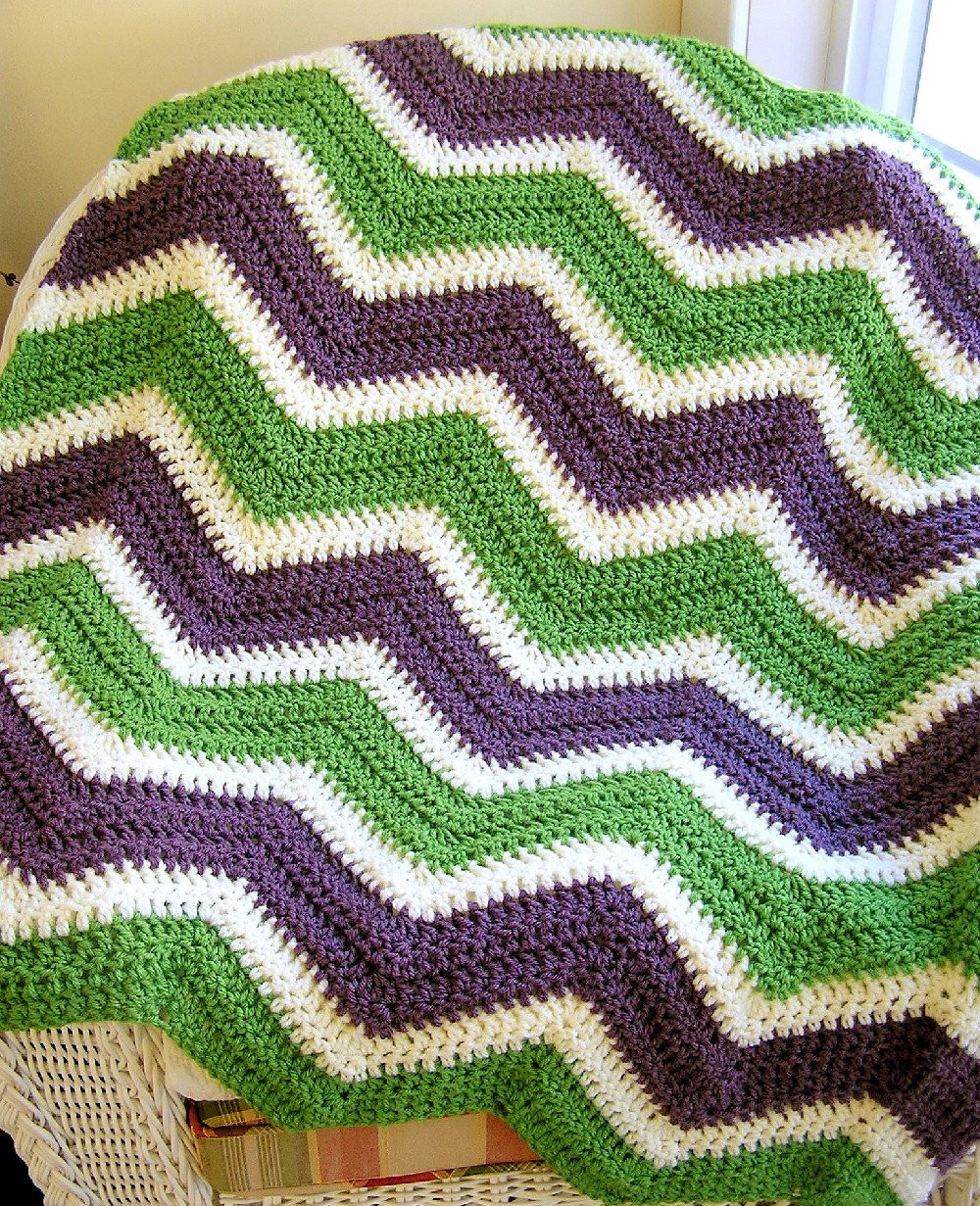 Chevron Crochet Afghan Elegant New Chevron Zig Zag Baby Blanket Afghan Wrap Crochet Knit Lap Of Charming 41 Models Chevron Crochet Afghan