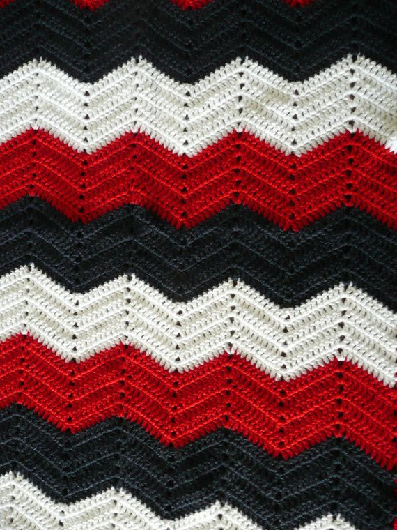 Chevron Crochet Afghan Inspirational Old Glory Red White Blue Crochet Afghan Heart or Of Charming 41 Models Chevron Crochet Afghan