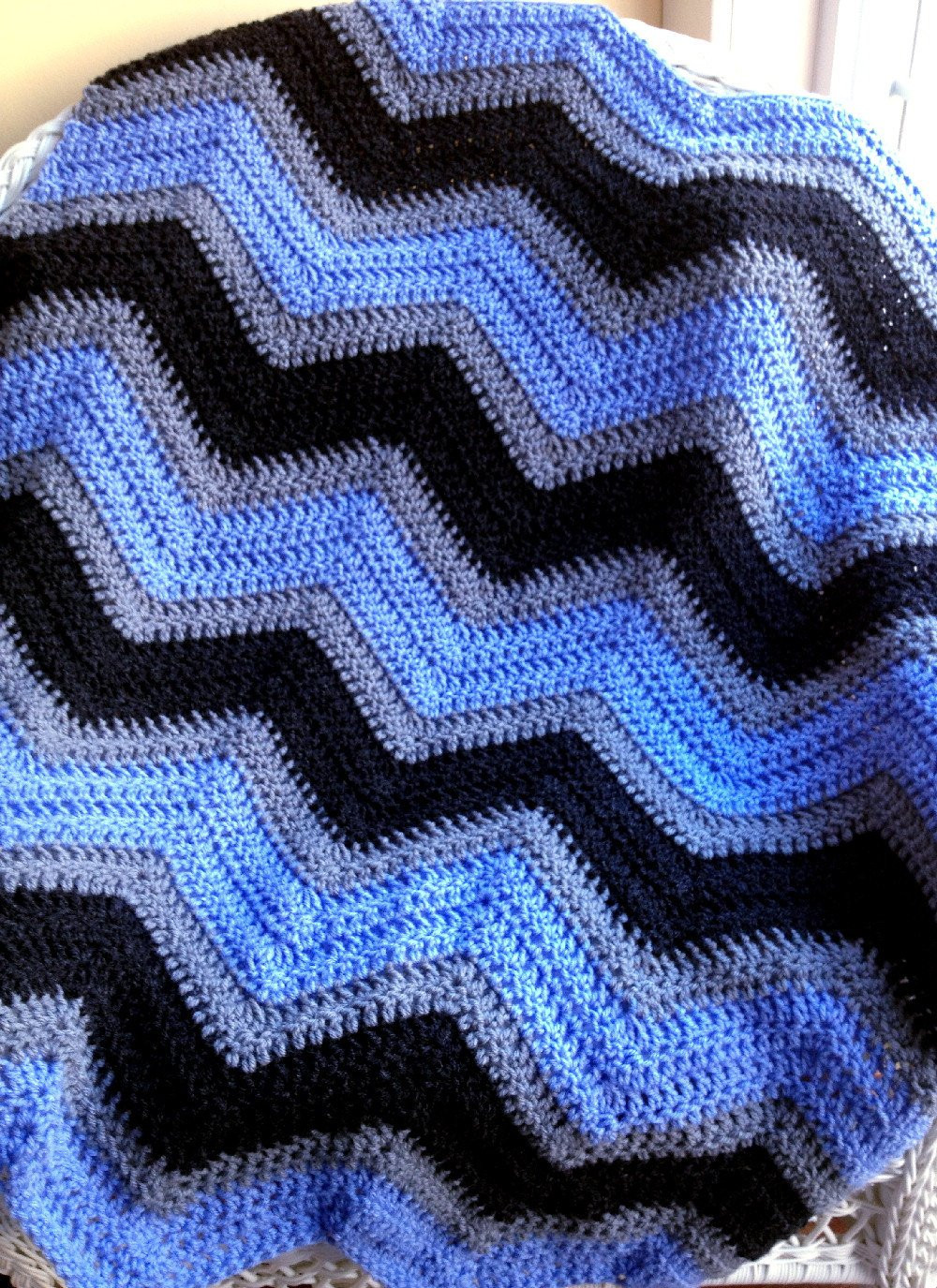 Chevron Crochet Afghan Luxury Chevron Zig Zag Baby Blanket Afghan Wrap Crochet Knit Photo Of Charming 41 Models Chevron Crochet Afghan