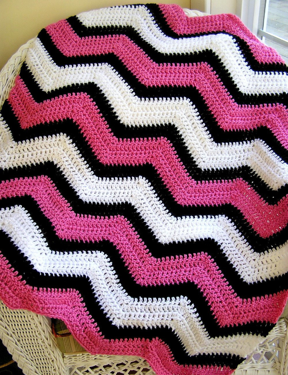 Chevron Crochet Afghan New New Chevron Zig Zag Baby Blanket Crochet Wrap Afghan Lap Of Charming 41 Models Chevron Crochet Afghan