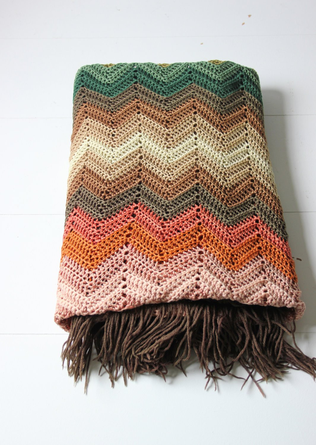 Chevron Crochet Afghan Unique Chevron Crochet Afghan Woven Granny Blanket In Warm Colors Of Of Charming 41 Models Chevron Crochet Afghan