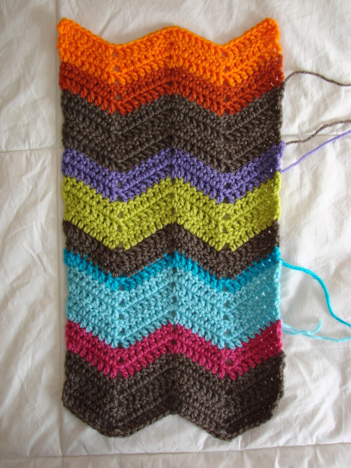 Chevron Crochet Pattern Fresh Crochet In Color Tuesday Saturday Tallies Of Adorable 49 Pictures Chevron Crochet Pattern