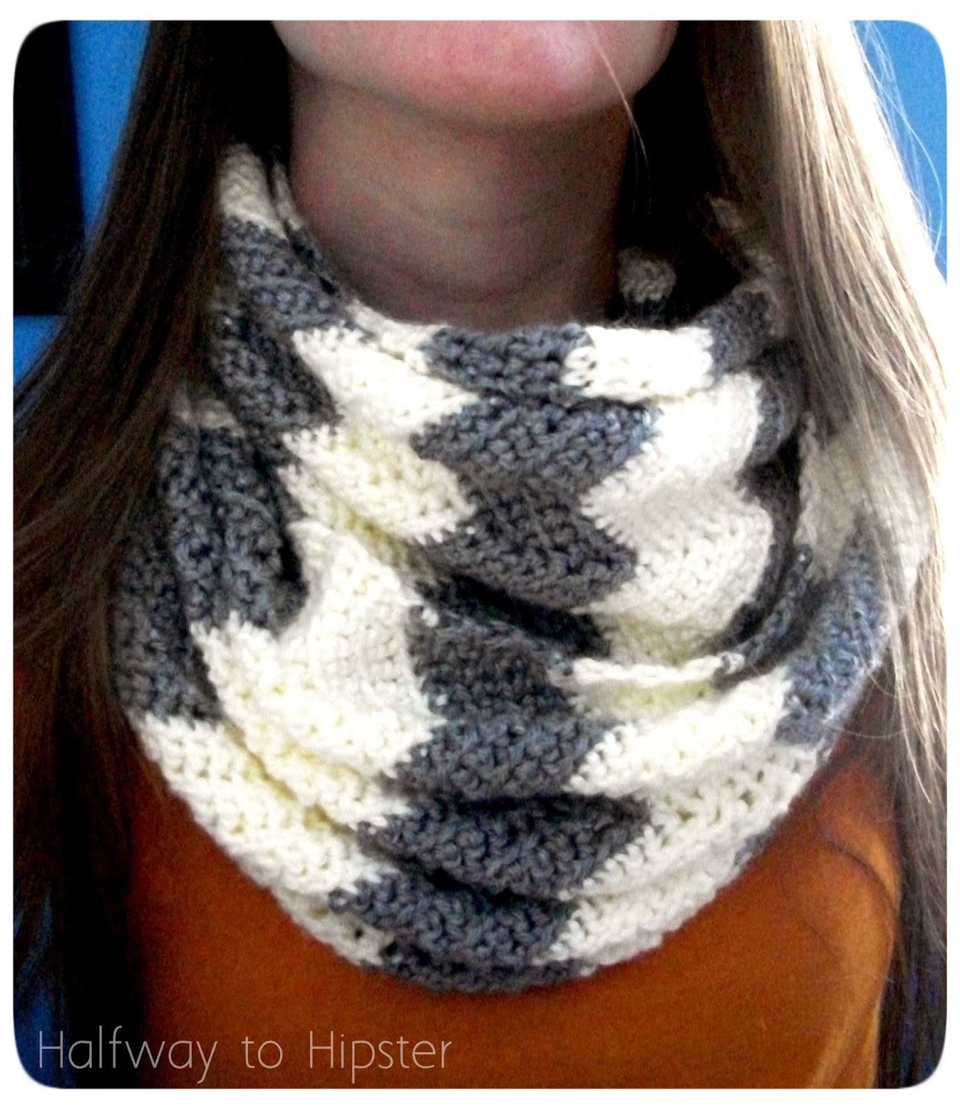 Chevron Crochet Pattern New How to Make 41 Easy and Fun Infinity Scarves & Wear them Of Adorable 49 Pictures Chevron Crochet Pattern