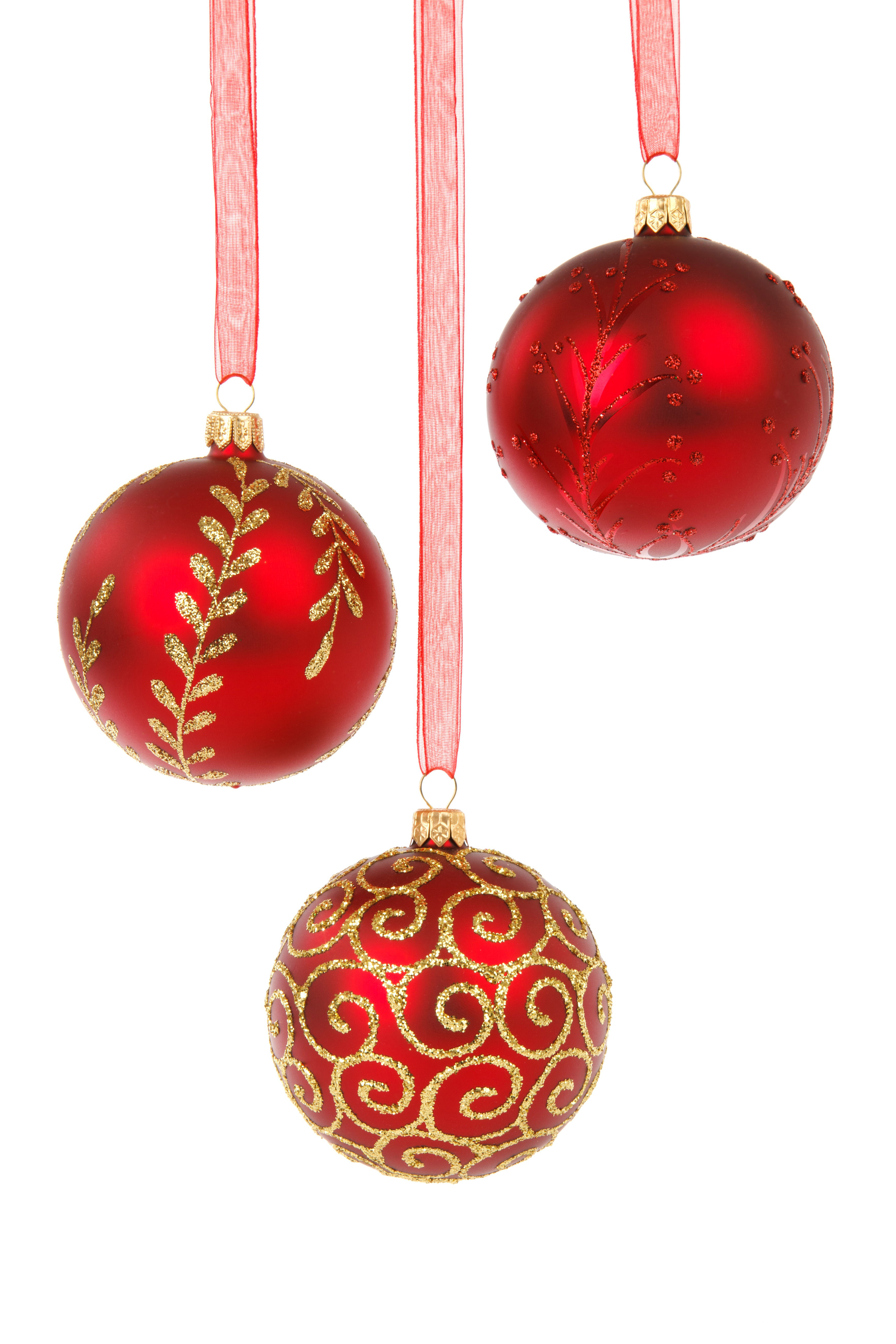 Christmas Ball ornaments Inspirational 15 assorted Christmas ornaments On A White Background Of Charming 42 Pictures Christmas Ball ornaments