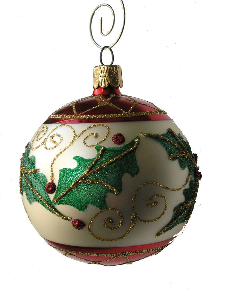 Christmas Ball ornaments Inspirational Holly Leaf Ball ornament Of Charming 42 Pictures Christmas Ball ornaments