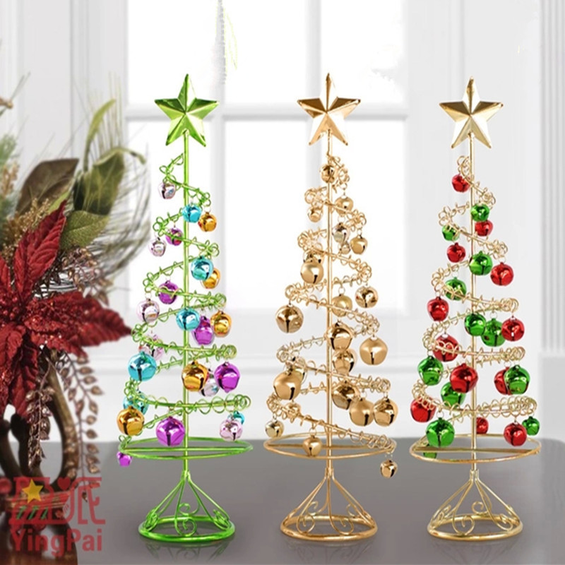 Christmas Bells Decorations Lovely Personalized Christmas ornaments Iron Trees for Home Gold Of Superb 46 Ideas Christmas Bells Decorations
