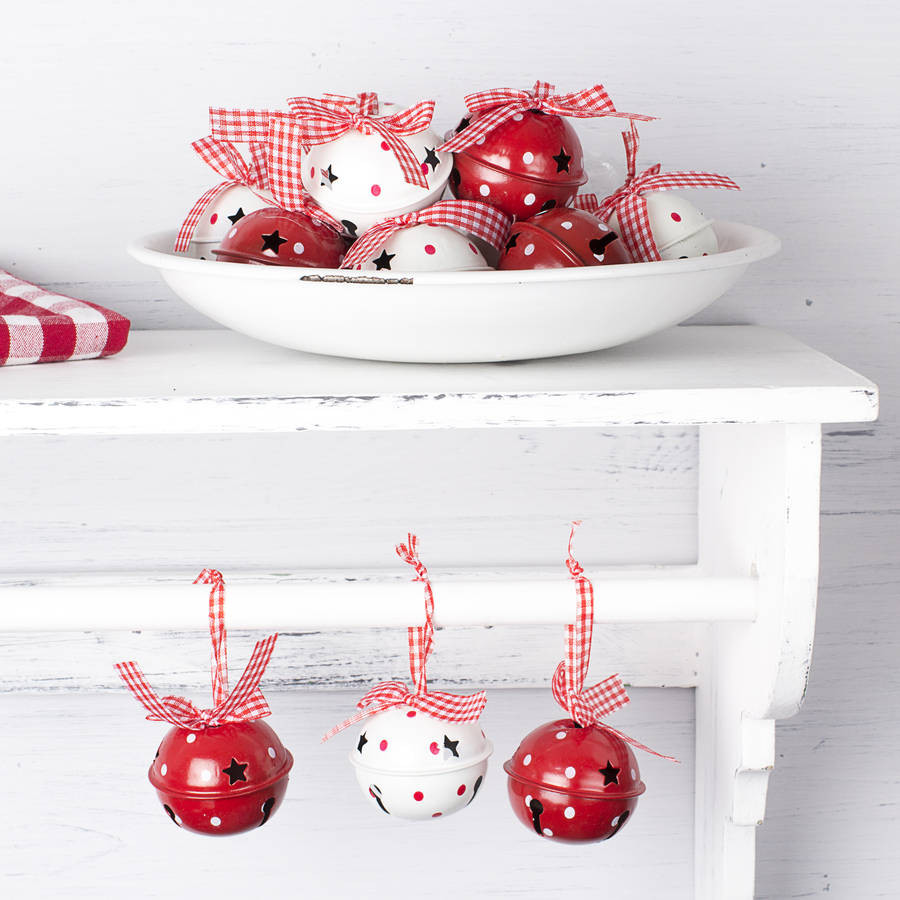 Christmas Bells Decorations Lovely Red and White Christmas Bells Decorations by the Christmas Of Superb 46 Ideas Christmas Bells Decorations