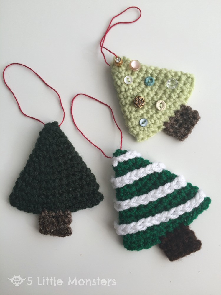 Christmas Crochet Awesome 5 Little Monsters Christmas Treats and Crocheted Trees Of Top 46 Pictures Christmas Crochet