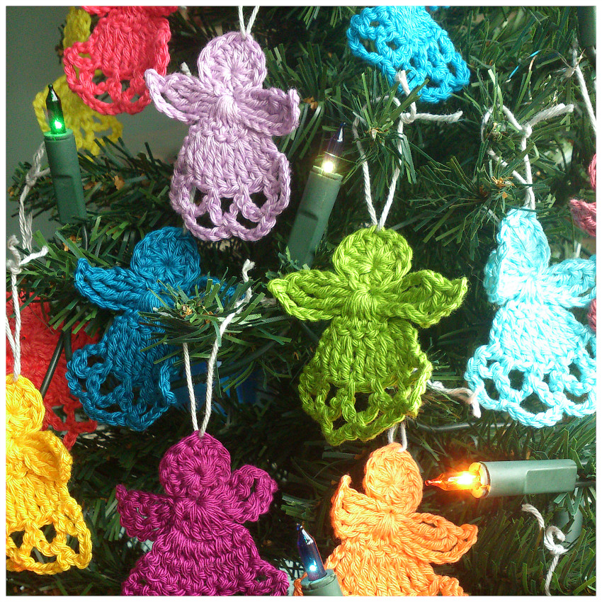 Christmas Crochet Lovely atty S Crochet Christmas Angels Of Top 46 Pictures Christmas Crochet