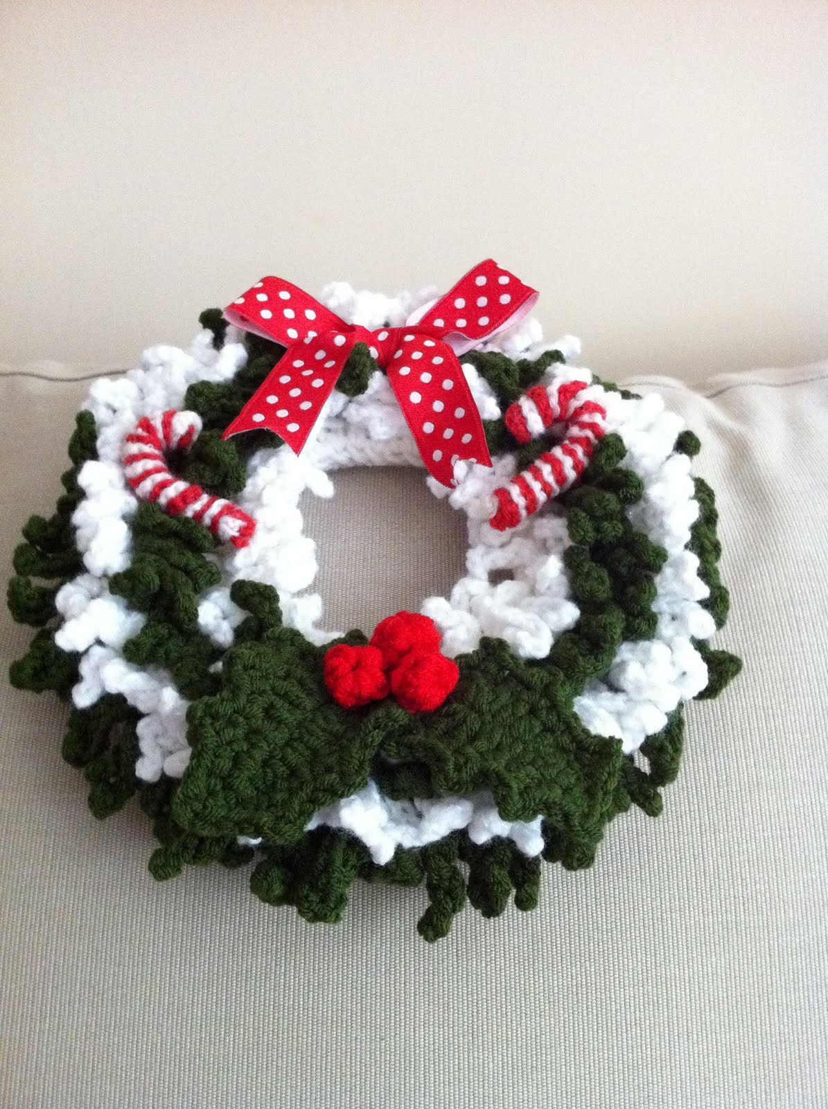 Christmas Crochet Patterns Awesome Handmade with Love by G Crochet Christmas Wreath 2011 Of Brilliant 49 Ideas Christmas Crochet Patterns