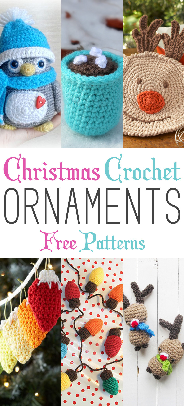 Christmas Crochet Patterns Best Of Christmas Crochet ornaments with Free Patterns the Of Brilliant 49 Ideas Christmas Crochet Patterns