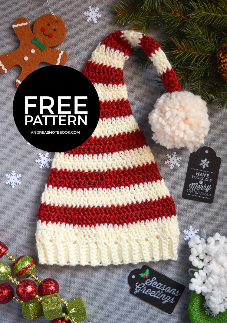 Christmas Crochet Patterns Lovely Christmas Hats for Newborn to Adult Free Crochet Patterns Of Brilliant 49 Ideas Christmas Crochet Patterns
