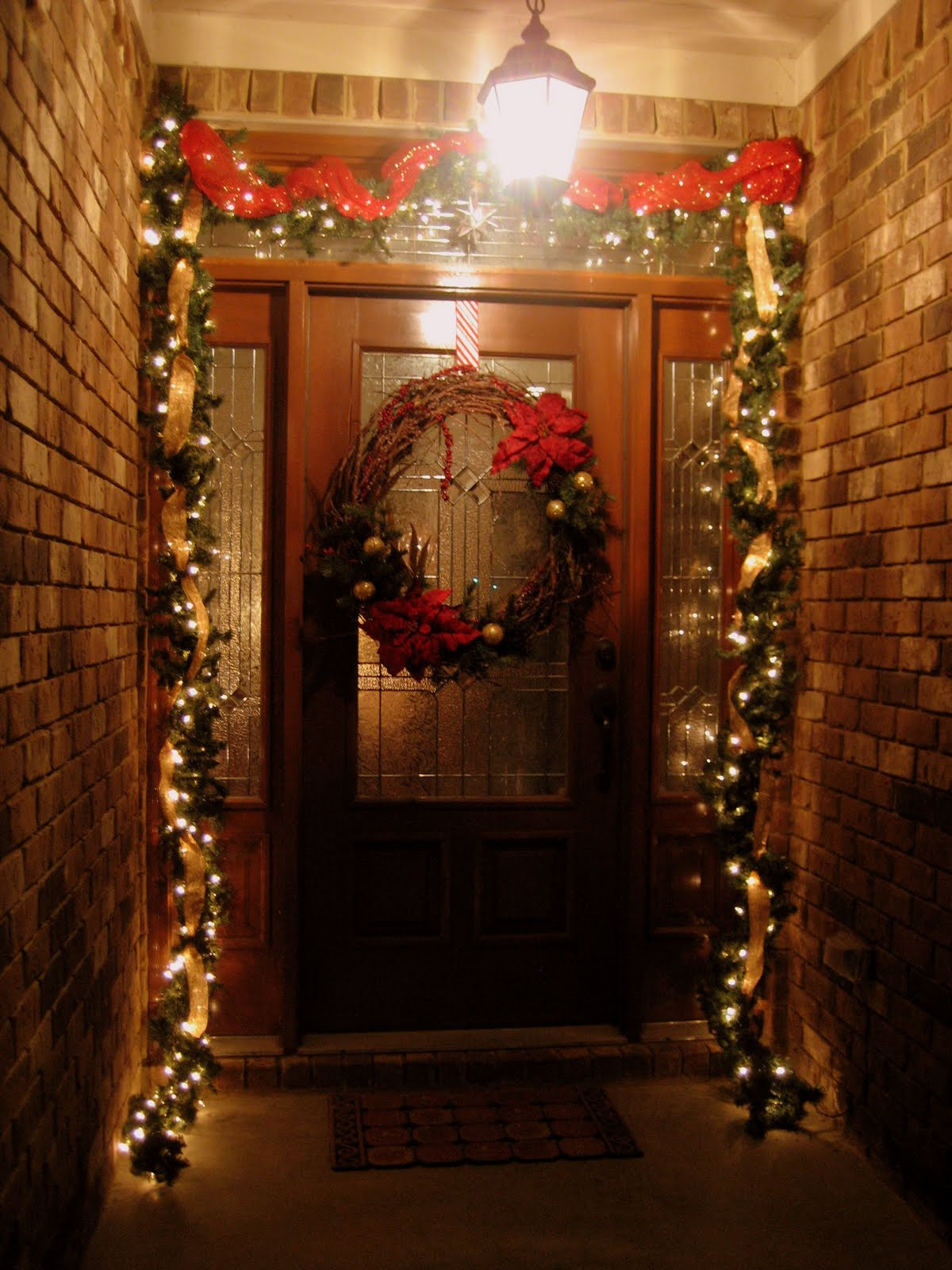 Christmas Decoration Ideas Awesome 35 Front Door Christmas Decorations Ideas Of Amazing 45 Photos Christmas Decoration Ideas