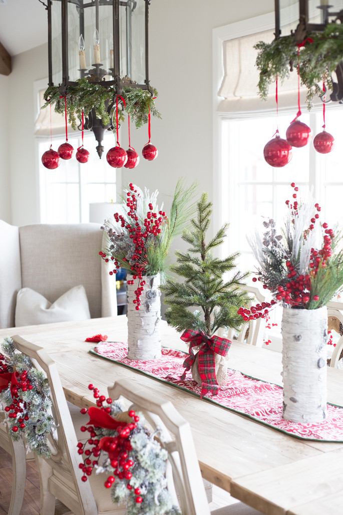 Christmas Decoration Ideas Beautiful My Home for the Holidays… Pink Peonies by Rach Parcell Of Amazing 45 Photos Christmas Decoration Ideas