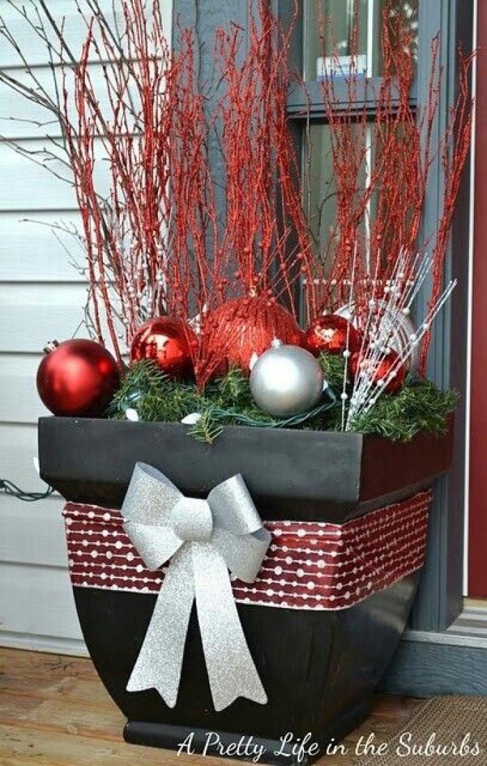 Christmas Decoration Ideas Best Of 25 top Outdoor Christmas Decorations On Pinterest Easyday Of Amazing 45 Photos Christmas Decoration Ideas