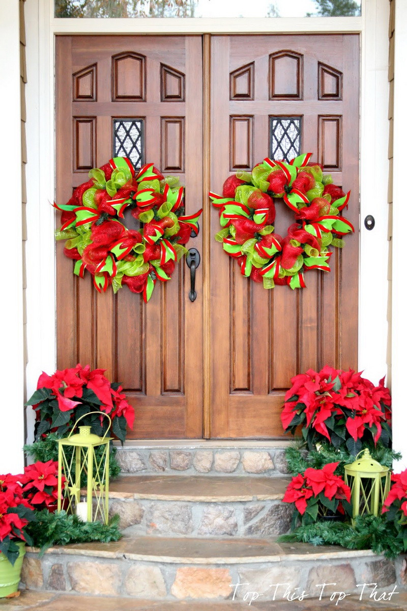 Christmas Decoration Ideas Best Of 50 Best Christmas Door Decorations for 2017 Of Amazing 45 Photos Christmas Decoration Ideas