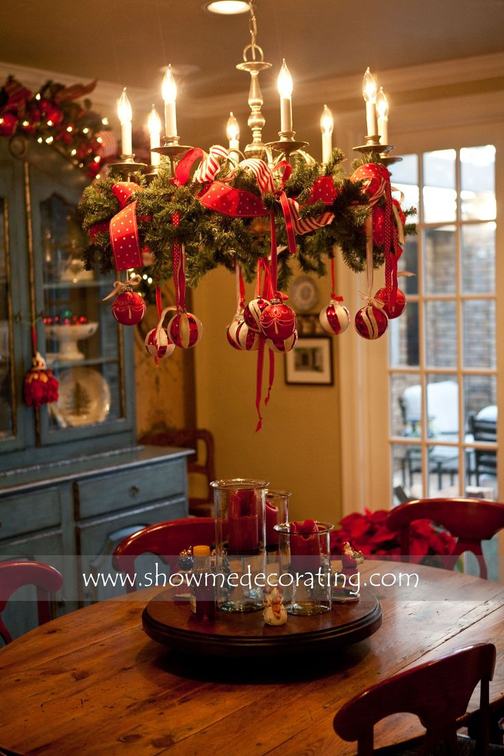 Christmas Decoration Ideas Elegant Awesome ornamented Christmas Chandeliers for Unfor Table Of Amazing 45 Photos Christmas Decoration Ideas