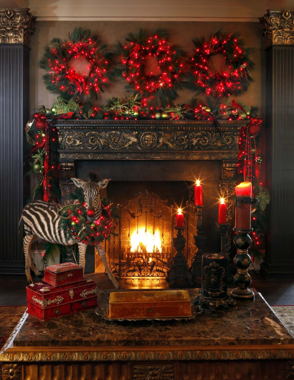 Christmas Decoration Ideas Fresh 50 Absolutely Fabulous Christmas Mantel Decorating Ideas Of Amazing 45 Photos Christmas Decoration Ideas