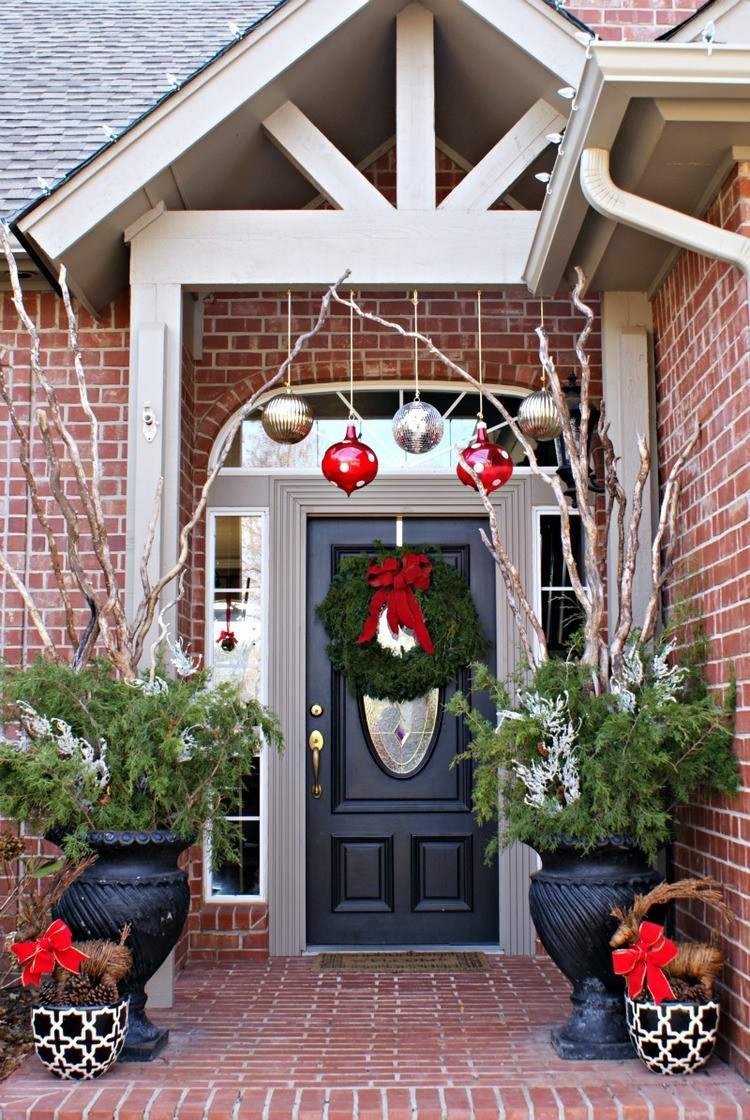 Christmas Decoration Ideas Lovely Christmas Decorating Ideas for Porch Festival Around the Of Amazing 45 Photos Christmas Decoration Ideas