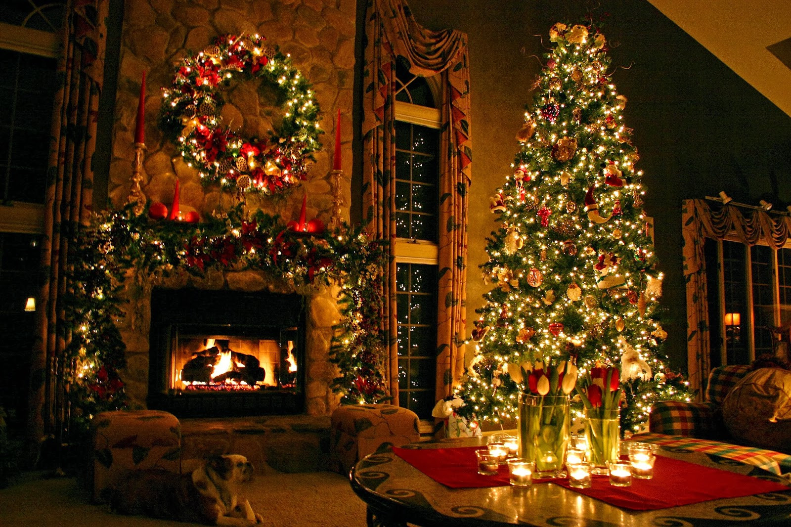 Christmas Decoration Ideas Lovely Indoor Christmas Tree Decoration Ideas Of Amazing 45 Photos Christmas Decoration Ideas