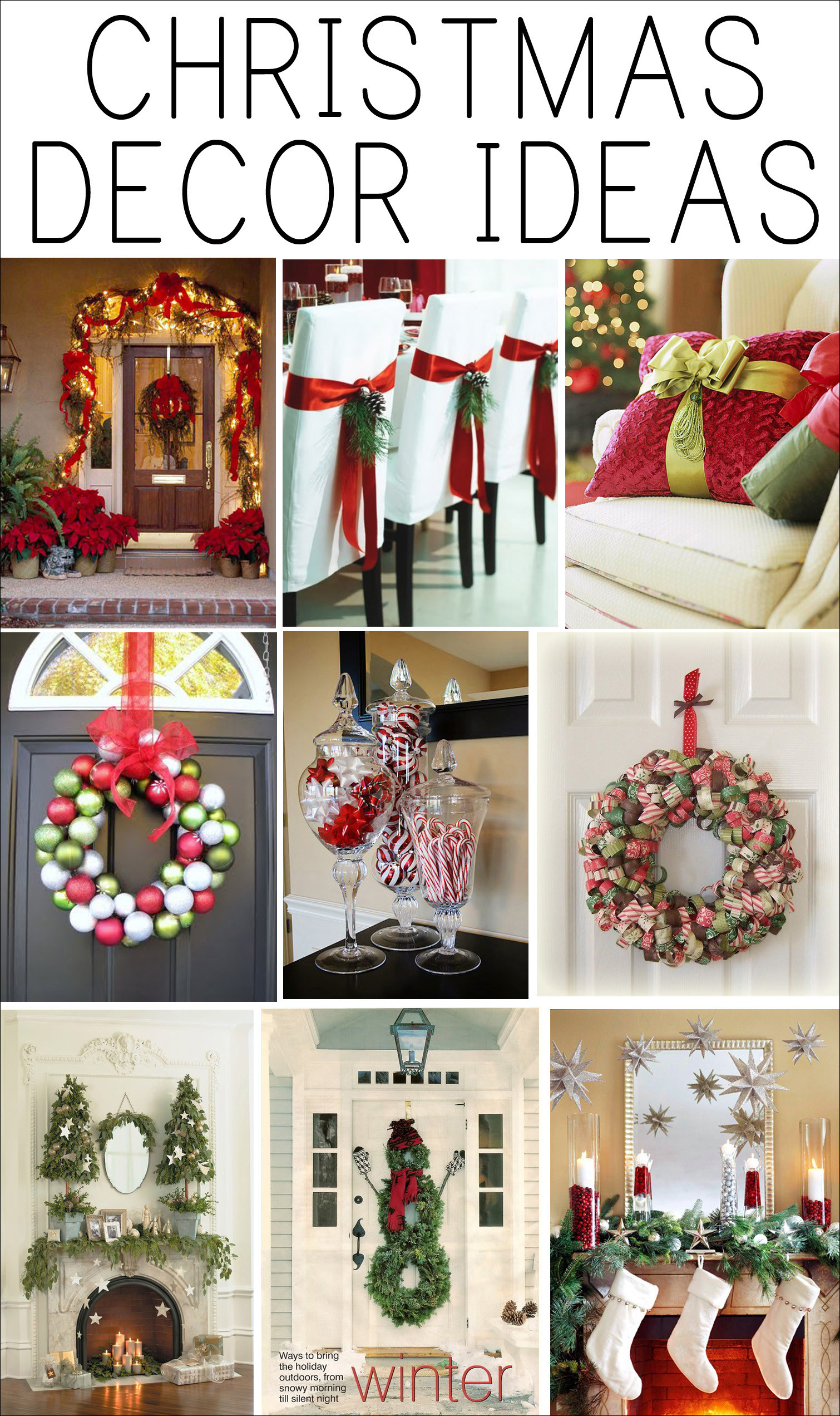 Christmas Decoration Ideas Luxury Get Inspired Christmas Decor Ideas How to Nest for Less™ Of Amazing 45 Photos Christmas Decoration Ideas