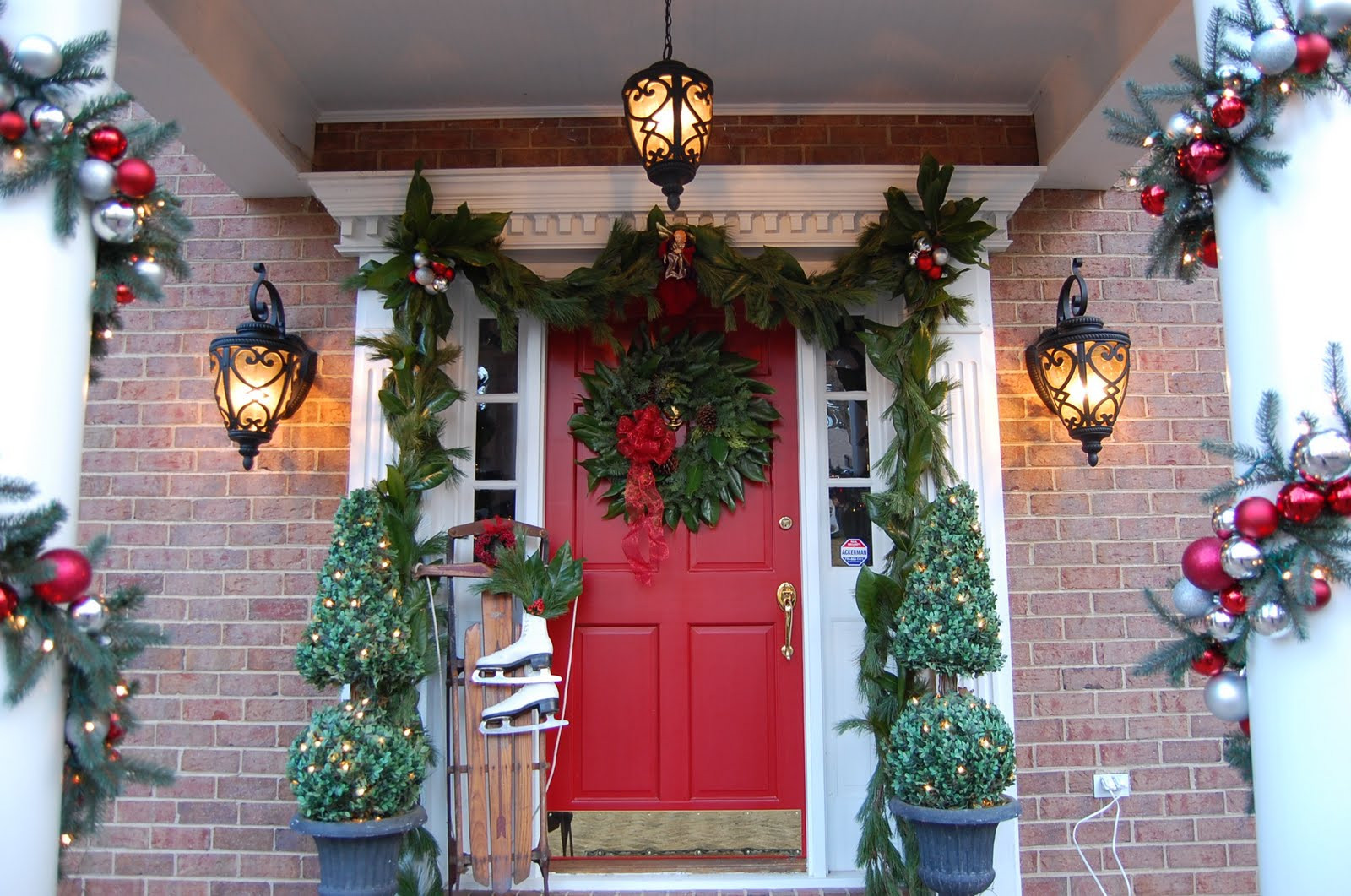 Christmas Decoration Ideas Unique 50 Best Outdoor Christmas Decorations for 2016 Of Amazing 45 Photos Christmas Decoration Ideas