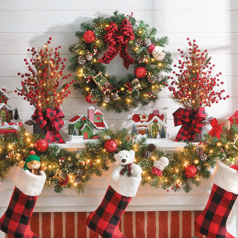 Christmas Decorators Fresh Christmas Decorating Ideas Mantel Decor Improvements Blog Of Christmas Decorators New 46 Beautiful Christmas Porch Decorating Ideas — Style Estate