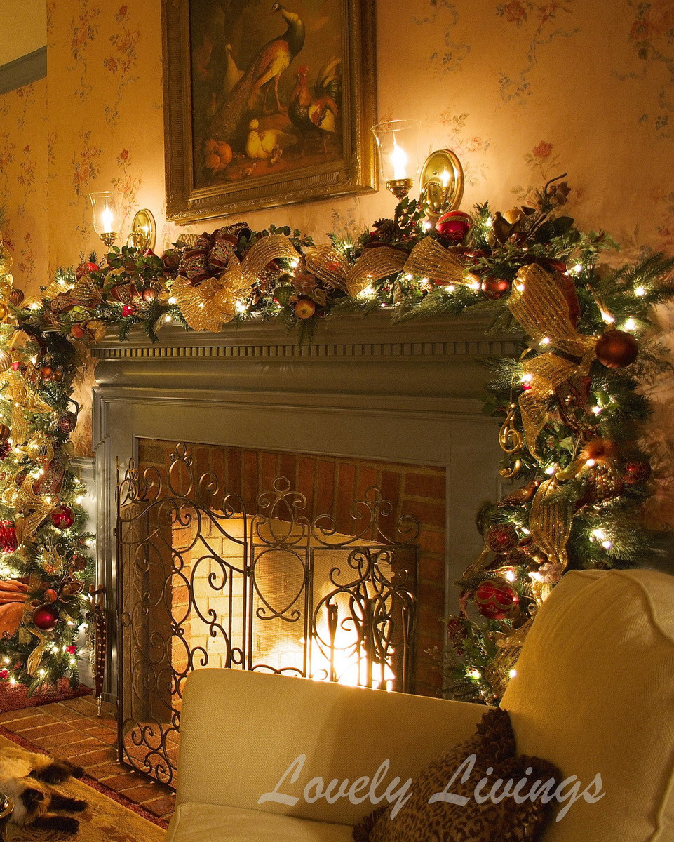 Christmas Decorators Lovely 52 Stunning Christmas Mantels — Style Estate Of Christmas Decorators New 46 Beautiful Christmas Porch Decorating Ideas — Style Estate