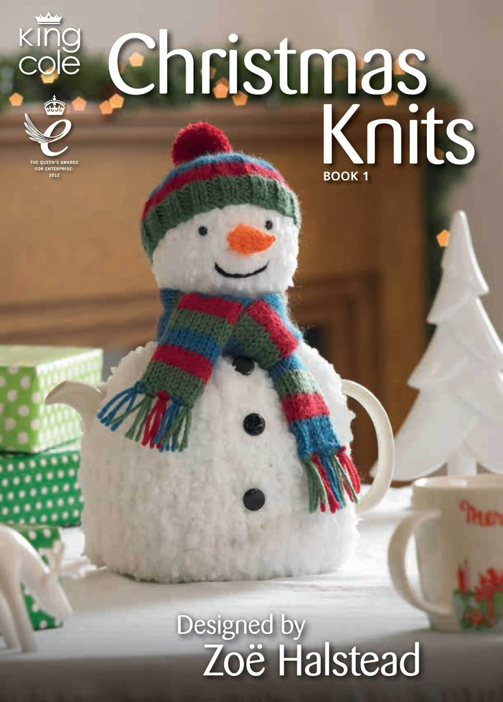 Christmas Knitting Best Of King Cole Christmas Knits 1 by Zoe Halstead Fun Festive Of Attractive 41 Models Christmas Knitting