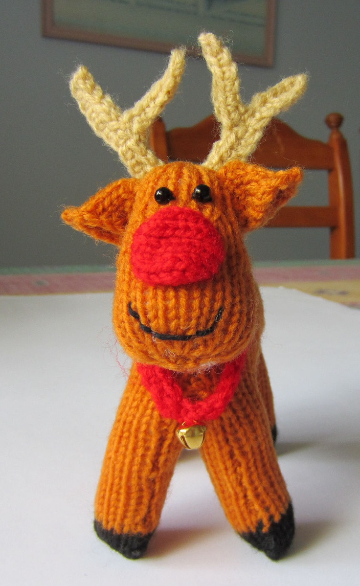 Christmas Knitting Luxury Justjen Knits Rex the Reindeer Of Attractive 41 Models Christmas Knitting