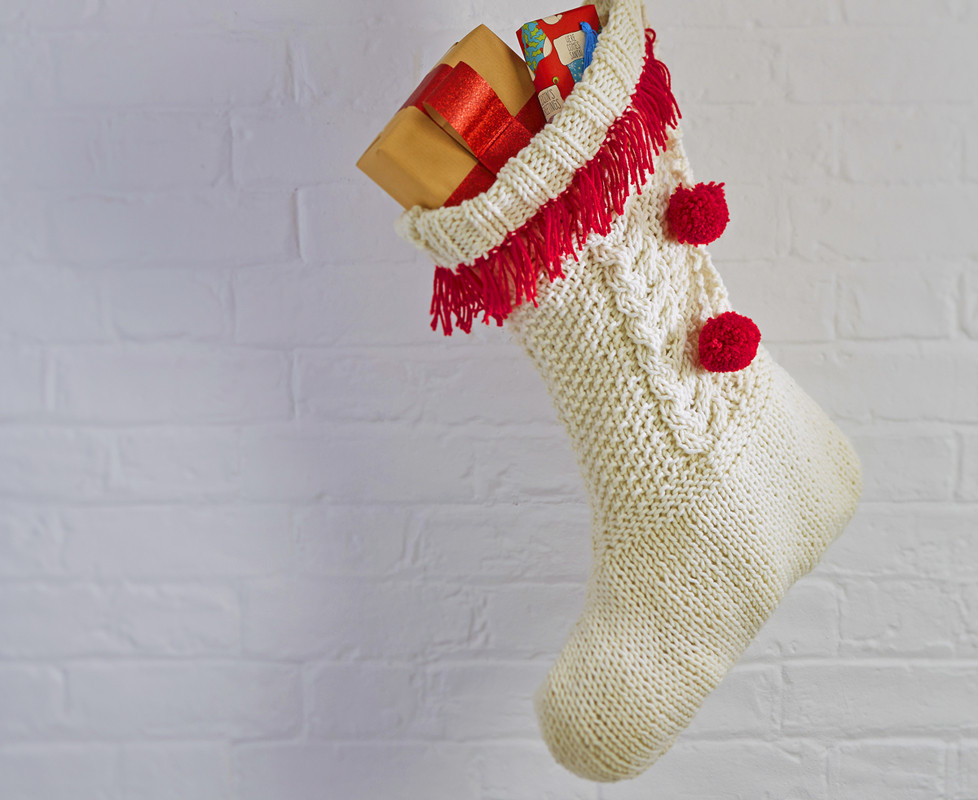 Christmas Knitting Patterns Awesome Cable Knit Christmas Stocking Pattern Hobbycraft Blog Of Contemporary 44 Pics Christmas Knitting Patterns