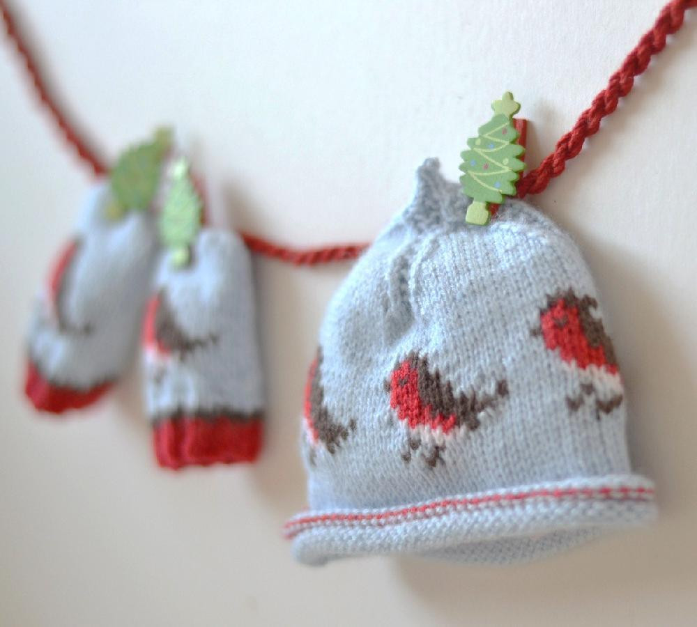 Christmas Knitting Patterns Lovely Baby Beanie and Baby Mittens Christmas Robins Bundle Offer Of Contemporary 44 Pics Christmas Knitting Patterns